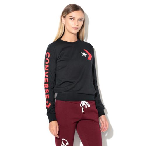 Bluza femei Converse cu imprimeu logo 10008127-001