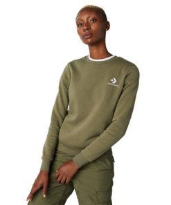 Bluza femei Converse Chevron Embroidered Crew 10008820-322
