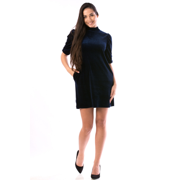 Rochie Dama KristyRey56 Bleumarin