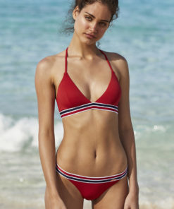 Costum de baie doua piese Cardiff red