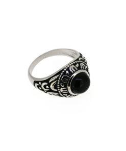Inel argint antichizat pentru barbati, marime 66