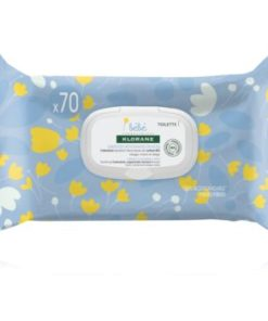 Klorane Bebe Calendula servetele moi de curatare pentru nou-nascuti si copii
