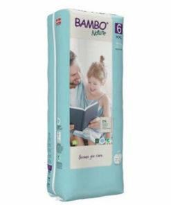 Scutece Bambo Nature Eco-Friendly size 6 (tall), 16+ kg, 40 buc
