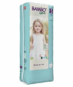 Scutece Bambo Nature Eco-Friendly size 5 (tall), 12-18 kg, 44 buc