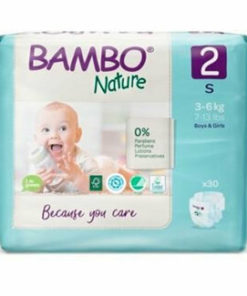 Scutece Bambo Nature Eco-Friendly size 2, 3-6 kg,30 buc