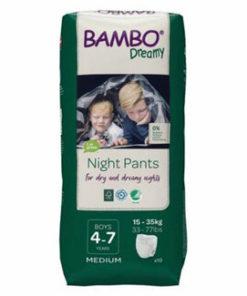 Scutece Bambo Dreamy Boy 4-7 years, 15-35 kg, M, 10 buc