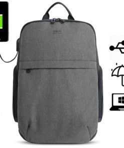 Rucsac barbati Smart laptop Dennis Negru