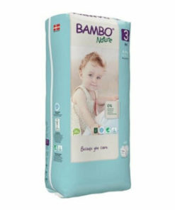 Scutece Bambo Nature Eco-Friendly size 3 (tall), 4-8 kg, 52 buc