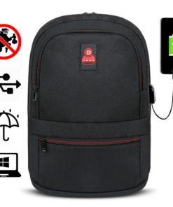Rucsac barbati Smart laptop Ralph Negru