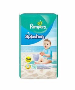 Scutece Pampers Splash 3-4 pentru apa, 6-11 kg, 12 buc.