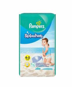 Scutece Pampers Splash 4-5 pentru apa, 9-15 kg, 11 buc.