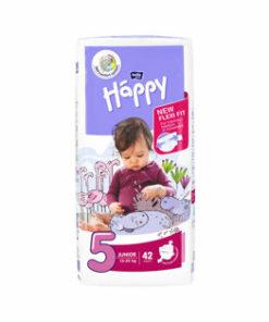Scutece Happy Junior, 42 buc