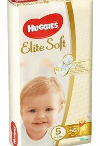 Scutece Huggies elite soft Mega 5, 12-22kg, 56 buc