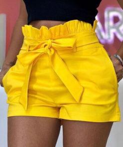 Pantaloni Scurti Maple Galbeni