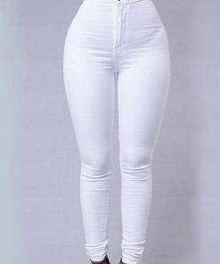 Pantaloni Teale Albi