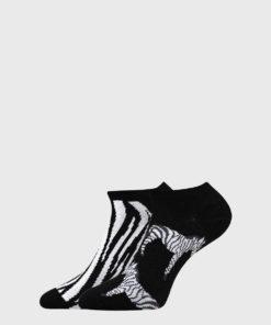 2 PACK sosete dama Zebra
