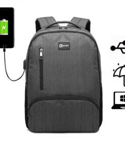 Rucsac barbati Smart laptop Erwin Gri