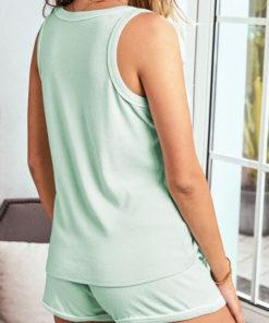 Set Pijama Juh Verde