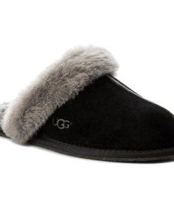 Papuci de casă Ugg Gri,Negru