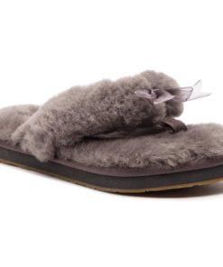 Papuci de casă Ugg Gri