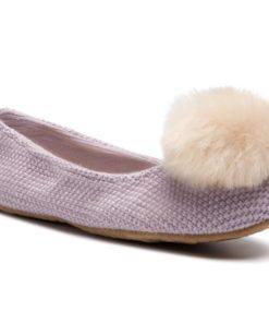 Papuci de casă Ugg Violet