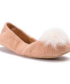 Papuci de casă Ugg Roz