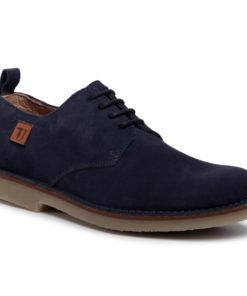 Pantofi Trussardi Jeans Bleumarin