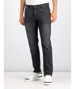Jeansy Regular Fit Trussardi Jeans Negru