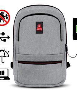 Rucsac barbati Smart laptop Ralph Gri