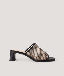 Papuci cu toc si model plasa 2927823