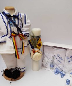 Set Botez Traditional Raul 16 - 3 piese - 9-12 luni