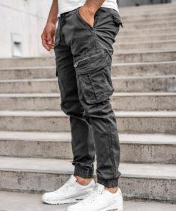 Pantaloni cargo grafit bărbați Bolf CT6701