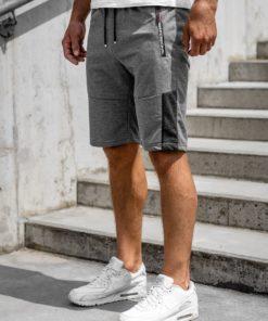 Pantaloni scurți grafit bărbați Bolf JX353