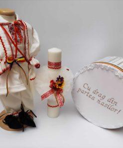 Set Botez Traditional Raul 13 - 3 piese - 9-12 luni