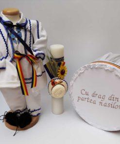 Set Botez Traditional Raul 14 - 3 piese - 9-12 luni