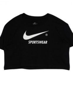 Tricou Nike W NSW TEE SWOOSH SW LOGO CROP