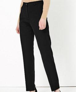 Pantaloni cu croiala dreapta si talie medie 2397576