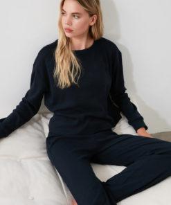 Pijama cu aspect striat 2991673