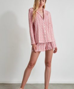 Pijama cu imprimeu 2991645