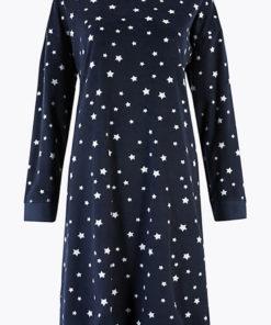 Camasa de noapte - cu model cu stele 2411699