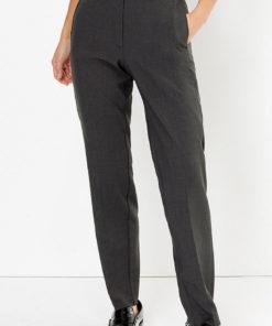 Pantaloni cu croiala dreapta si buzunare laterale 2716339