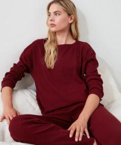 Pijama cu aspect striat 2991718