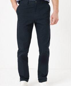 Pantaloni chino regular fit cu buzunare oblice 2673542