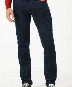 Pantaloni slim fit din reiat 2320556