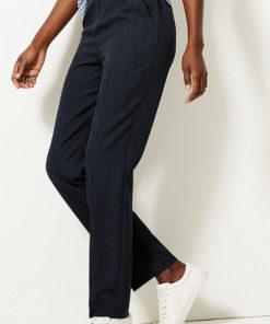 Pantaloni cu croiala dreapta si catarama 2521848