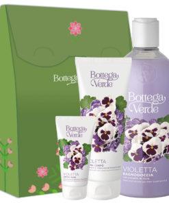 Set cadou hidratare corp cu extract de violete si ulei de migdale dulci 81103422